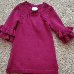 Toddler Exaggerated Sleeve Dress